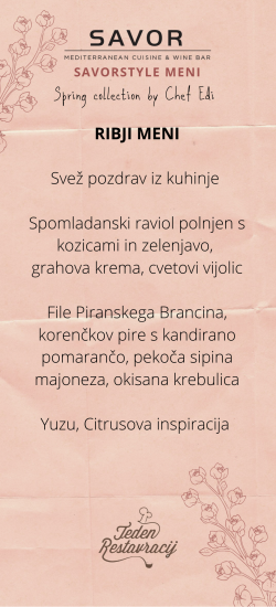 Copy of Teden restavracij SAVORstyle